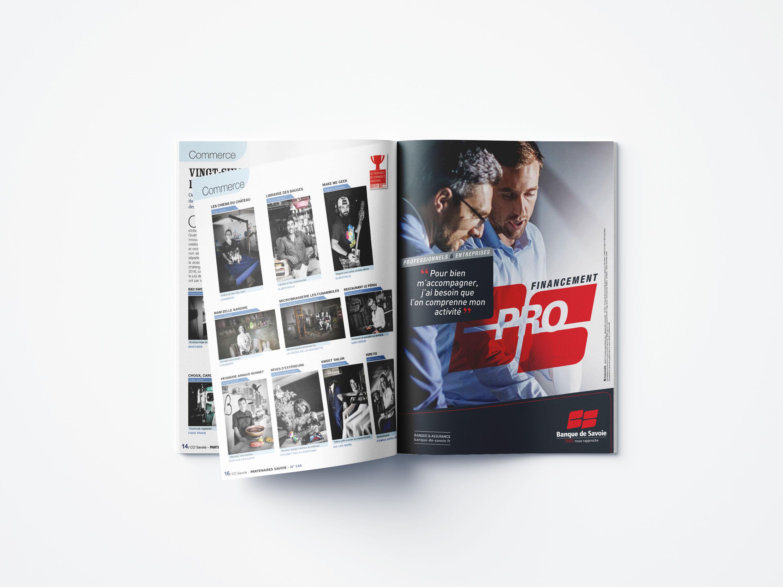 Réalisation du magazine de la CCI de Savoie